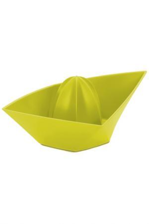 Соковыжималка для лимонов Koziol. Цвет: зеленый