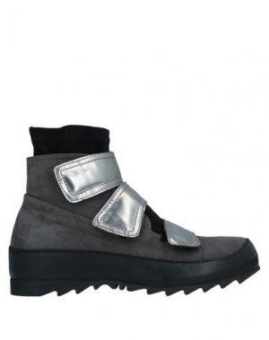 Высокие кеды и кроссовки IXOS. Цвет: стальной серый