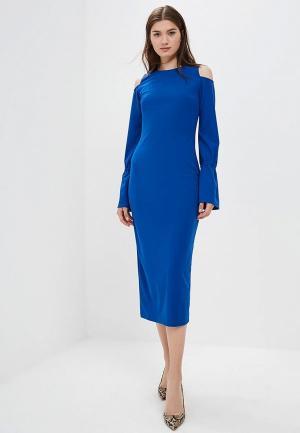 Платье AlexandraKazakova 1557ДС. Цвет: синий