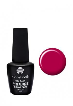 Гель-лак для ногтей Planet Nails PRESTIGE - 532, 10 мл красно-малиновый. Цвет: красный