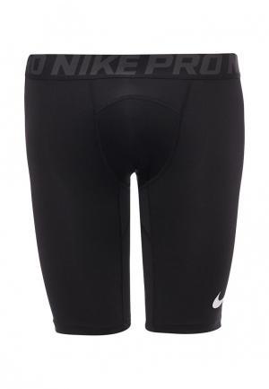 Шорты компрессионные Nike MENS PRO SHORTS. Цвет: черный
