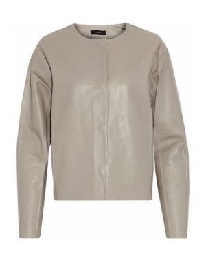 Куртка J BRAND. Цвет: голубиный серый
