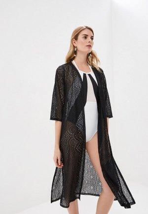 Платье пляжное Phax. Цвет: черный