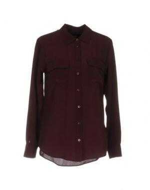 Pубашка EQUIPMENT. Цвет: баклажанный