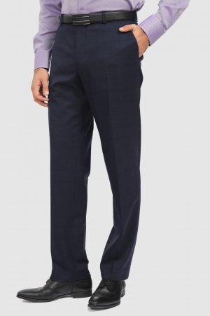 Костюмные брюки зауженные из шерсти KANZLER