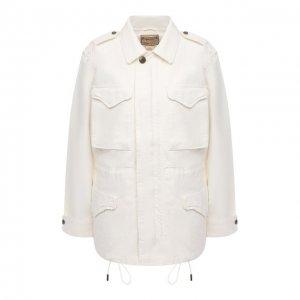 Джинсовая куртка Polo Ralph Lauren. Цвет: бежевый