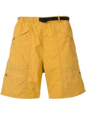 Шорты карго свободного кроя Battenwear. Цвет: желтый
