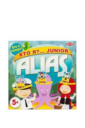 Кто я?... Junior Alias Tactic. Цвет: голубой