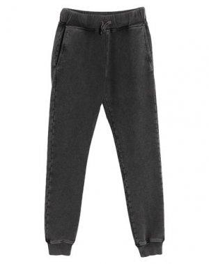 Повседневные брюки HYDROGEN. Цвет: стальной серый