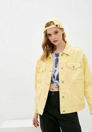 Куртка джинсовая Befree Exclusive online. Цвет: желтый