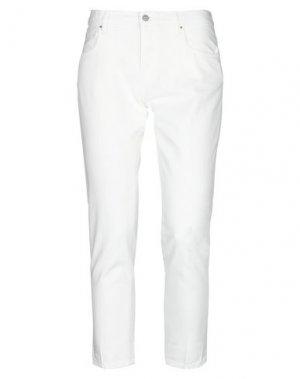 Повседневные брюки DON THE FULLER. Цвет: белый