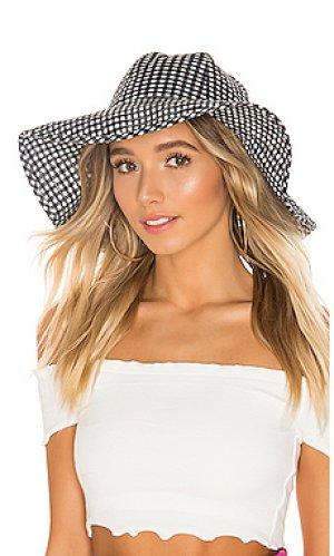 Шляпа Marysia Swim. Цвет: черный