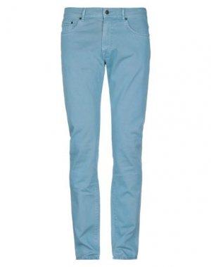 Повседневные брюки BOGLIOLI. Цвет: лазурный