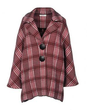 Пальто CHARLOTT. Цвет: красный