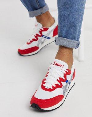 Бело-красные кроссовки Tarther-Белый Asics