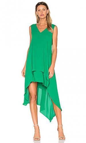 Платье kaira BCBGMAXAZRIA. Цвет: зеленый