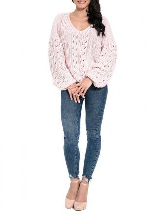 Пуловер FIMFI. Цвет: розовый