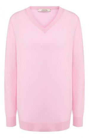 Шерстяной пуловер Dorothee Schumacher. Цвет: светло-розовый
