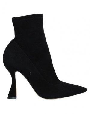 Полусапоги и высокие ботинки SOPHIA WEBSTER. Цвет: черный