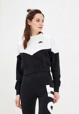 Свитшот Nike SPORTSWEAR WOMENS FLEECE CREW. Цвет: черный