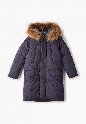 Куртка утепленная Kiwiland. Цвет: синий