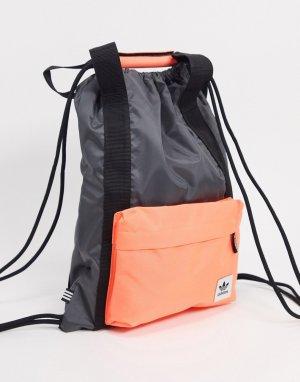 Серая спортивная сумка Premium Essentials-Серый adidas Originals