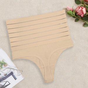 Формирующее нижнее белье из сетки большого размера SHEIN. Цвет: aбрикосовый