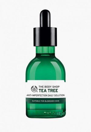 Сыворотка для лица The Body Shop Чайное дерево, 50 мл. Цвет: зеленый