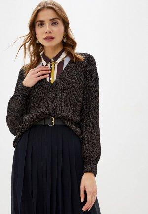 Пуловер Love Republic. Цвет: коричневый