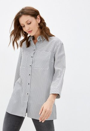 Блуза Electrastyle. Цвет: разноцветный