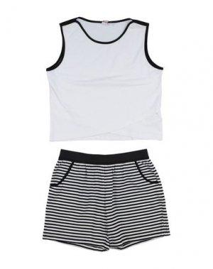 Комплекты с шортами iDO by MINICONF. Цвет: белый