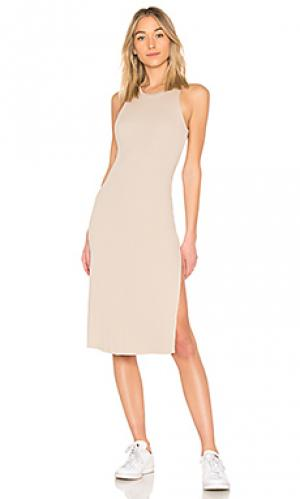 Платье melbourne COTTON CITIZEN. Цвет: nude