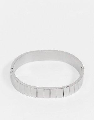 Браслет -Серебряный Calvin Klein