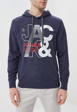 Худи Jack & Jones. Цвет: синий