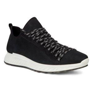 Кроссовки ST.1 ECCO. Цвет: черный