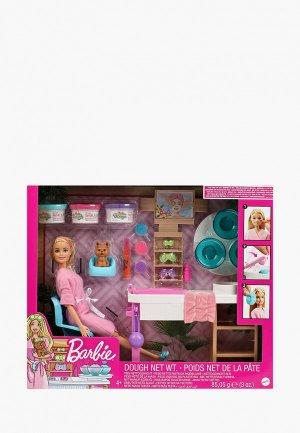 Кукла Barbie с набором СПА. Цвет: разноцветный