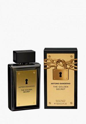 Туалетная вода Antonio Banderas Golden Secret. Цвет: прозрачный