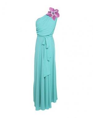 Длинное платье HANITA. Цвет: изумрудно-зеленый