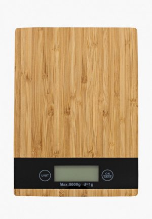 Весы кухонные ZDK S-Kit Home 1, до 5 кг. Цвет: бежевый