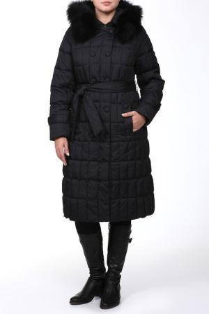 Пальто Lawine. Цвет: черный