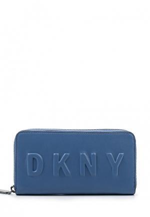 Кошелек DKNY DK001BWQZK35. Цвет: голубой