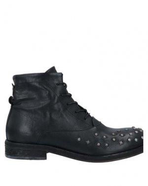 Полусапоги и высокие ботинки A.S. 98. Цвет: черный