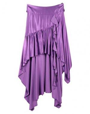 Юбка до колена ANIYE BY. Цвет: фиолетовый