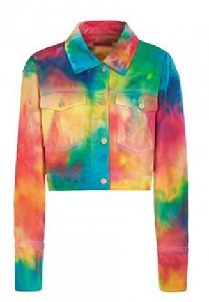 Джинсовая куртка IRENEISGOOD. Цвет: разноцветный