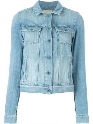 Denim jacket Paige. Цвет: синий