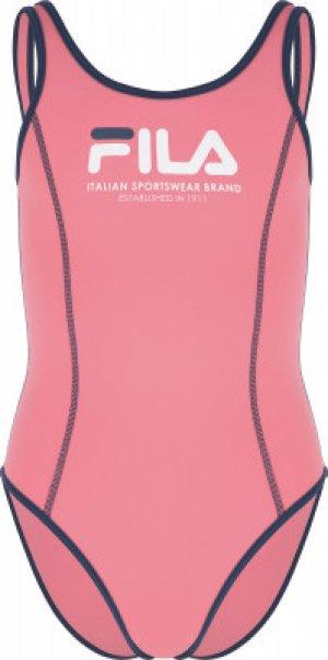 Купальник для девочек , размер 152 FILA. Цвет: розовый