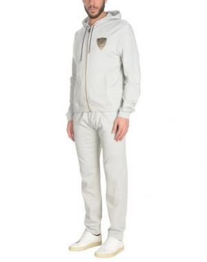 Спортивный костюм BILLIONAIRE. Цвет: светло-серый