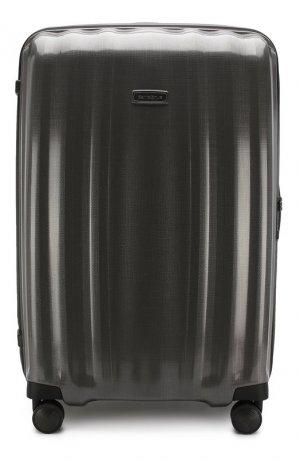 Дорожный чемодан Lite Cube extra large Samsonite. Цвет: серый