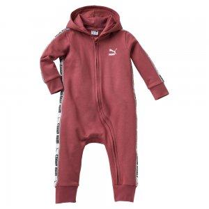 Детский комбинезон Baby Onesie PUMA. Цвет: красный