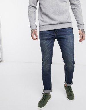 Синие джинсы скинни -Голубой Bellfield